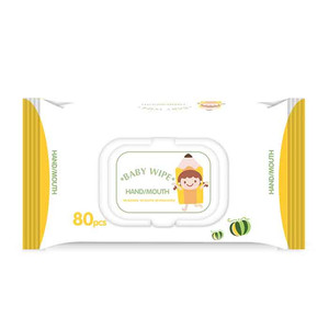 Child Safe Disinfecting Surface Body Cleansing Wipes