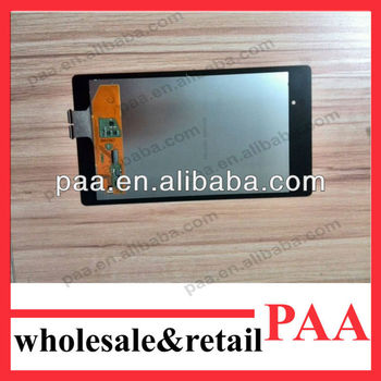 For Google Nexus 7 Il lcd+touch digitizer 2013 accept paypal
