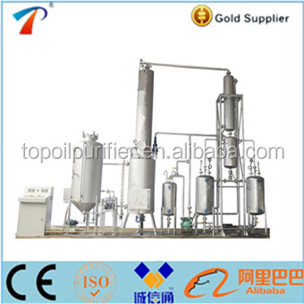 Manufacture Black Motor Oil Recycling Plant Model Eos 10mini Diesel