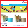 2016 multicolor elastic cure kinesiology match game multifunction Joint Pain tape Olympic Accessory Porous Cotton Fabric tape