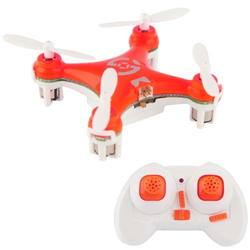 RC TOYS,CX-10 4 Channel 2.4GHz Gyro Mini Quadcopter RC Helicopter with Transmitter, Suit for Over Age 14