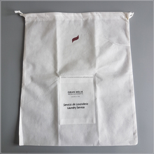 Mesh Laundry/Non Woven/Strawing High Quality Jute Bag Best Hotel Laundry bag