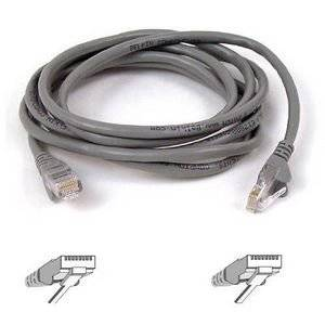 "Belkin, Patch Cable Rj-45 (M) Rj-45 (M) 14 Ft Utp Cat 5E Gray For Omniview Smb 1X16, Smb 1X8, Omniview Ip 5000Hq, Omniview Smb Cat5 Kvm Switch ""Product Category: Supplies & Accessories/Network Cables"""