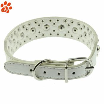 Luxury Dog Collar With Decoration Studs And Pearls Direct Supplier - Buy  Diamond Studded Dog Collars,Dog Collar With Name Plate,Pu Leather Dog  Collar