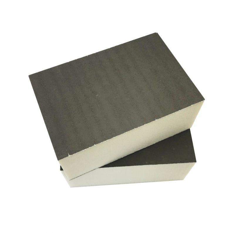 Gesloten Cel Stijve Schuim Panelen Pu Pir 50 Mm Polyurethaan Thermische Isolatie Panel Pir Warmte-isolatie Board