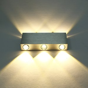 6W LED Wall Lamp Up Down Modern Aluminum Wall Light