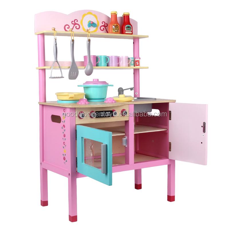 2016 vendita calda bambini finta giocattoli cucina giocare set di ...