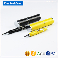 2016 Hot selling twist action parker refill metal touch promotional ball pen