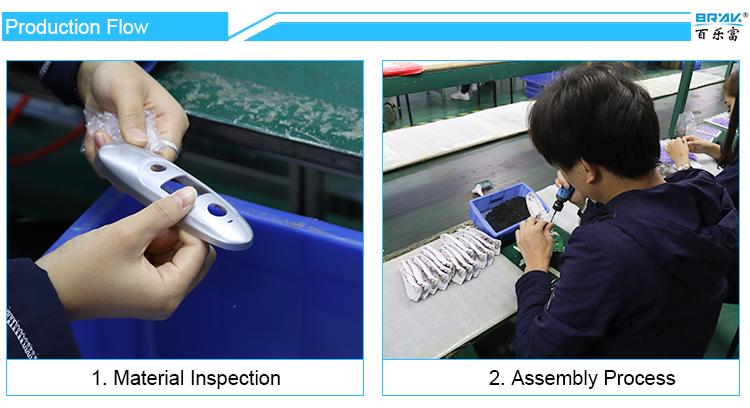 Pemasok Profesional RoHS Bluetooth Klinis Demam Pemantauan Termometer Inframerah untuk Anak-anak