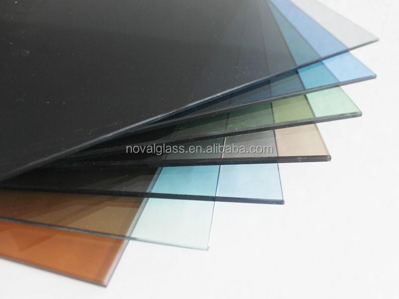 4mm GreyBronzeGreenBlueBlack Tinted GlassColored Window Glass