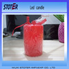 Hot sale color changing flameless led candle light with remote control, led wax candle light