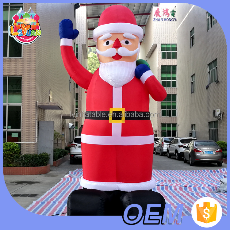 Hot-selling Lovely outdoor cheap Christmas <strong>inflatables</strong>, <strong>inflatable</strong> Christmas Santa Claus