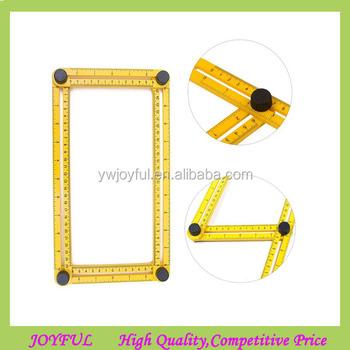 2017 popular angle measuring ruler measurement template angle izer tools multi angle ruler