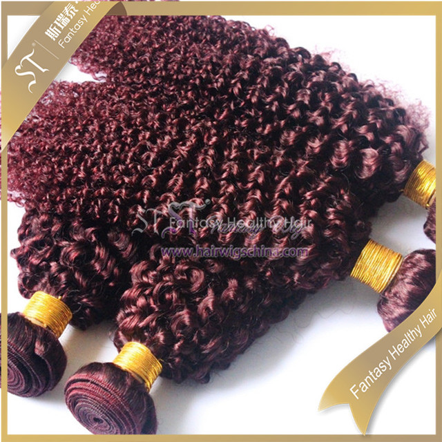 Dark Red Curly Hair Extensions Wholesale Extensions Suppliers Alibaba