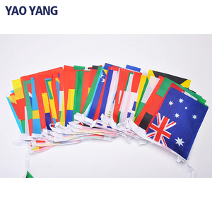 Eco Friendly International World Bunting Flags All Country Flag With String