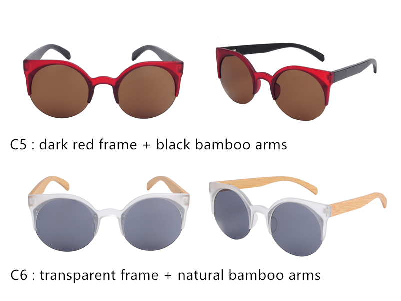 OEM bamboo wooden sunglasses free sample China wholesale sunglasses custom logo promotional sunglasses