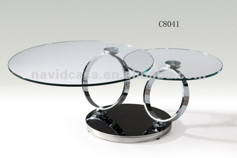 C8041 Modern Round Glass Coffee Table Buy C8041 Modern Round