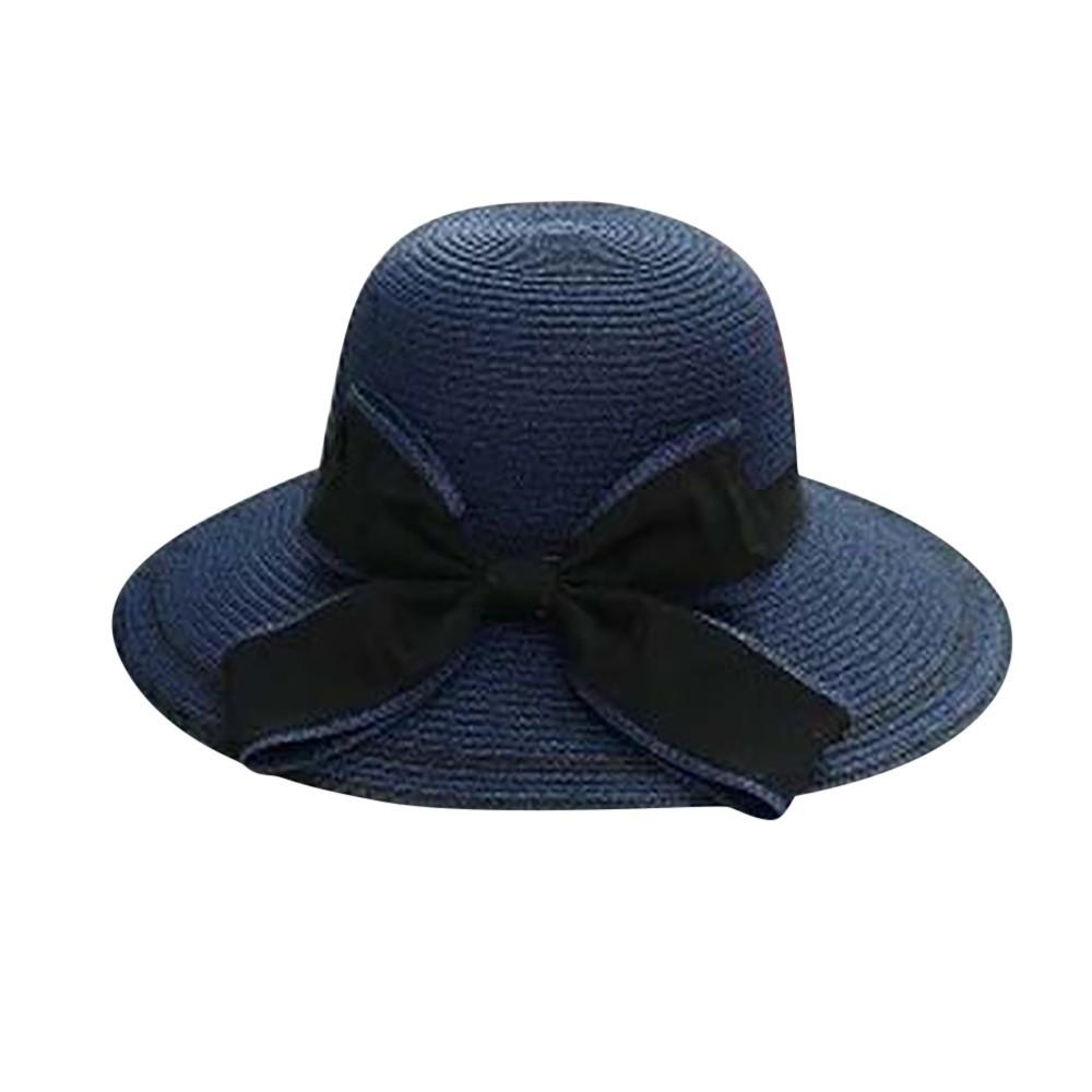 Compre Verão Vintage Pure Praia Das Mulheres Chapéu De Sol Floppy ... b469d22f680