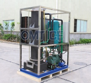 OMT 1Ton Solar System Tube ice making machine for Crystal ice
