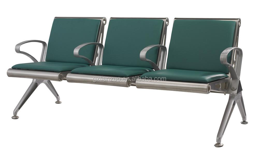 Silla de espera del hospital muebles tres asientos sillas for Sillas para hospital