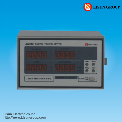 LS2012 Electrical Measuring Instruments Measuring AC+DC Input Electrical Parameters, like Voltage, Current, Power, Power Factor