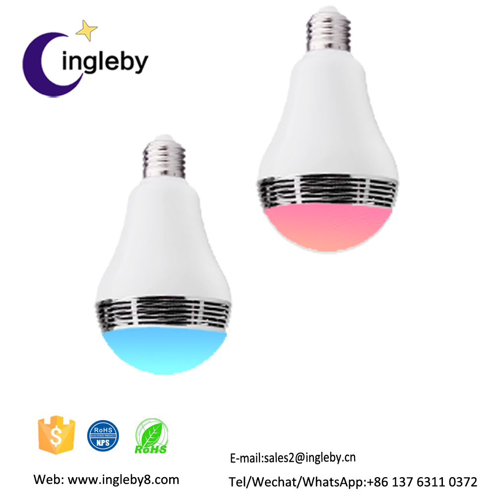 2016 top sales product in china music <strong>player</strong> with bluetooth control smart led bulb