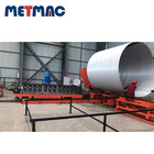 Sewer pipe roll forming machine