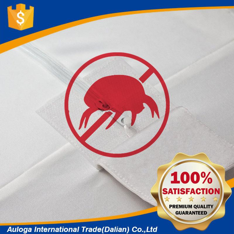 Professional waterproof bed bug proof mattress cover with velcor- vinyl free with CE certificate