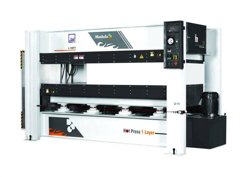 Laminated hot press machinery