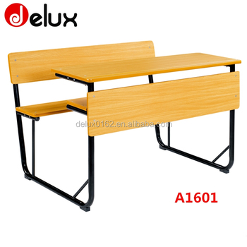 Study Chair With Attached Table ... Desk And Chair,Attached School Desks And Chair Product on Alibaba.com