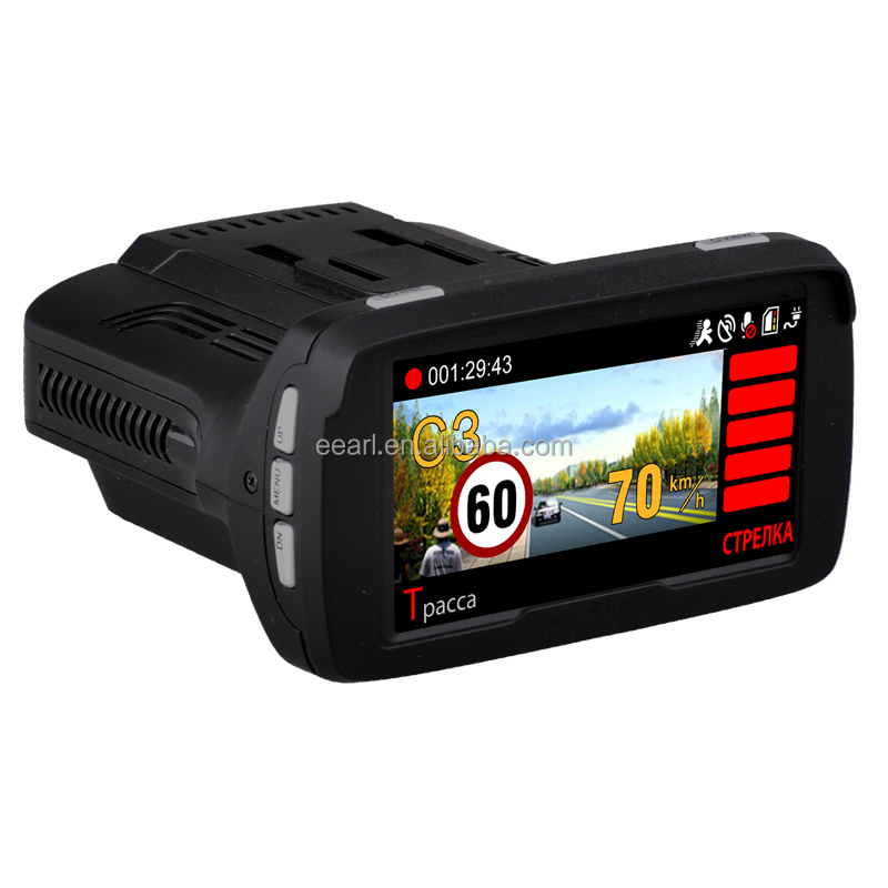 2.7 inch Ambarella A7LA50D 1296P 2K Car Camera Radar Detection Device Support Russian,English,Hebrew,Vietnamese