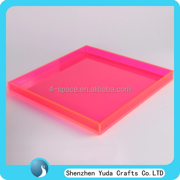 Acrylic Lipstick Tray, Perspex Nail Polish Serving Tray