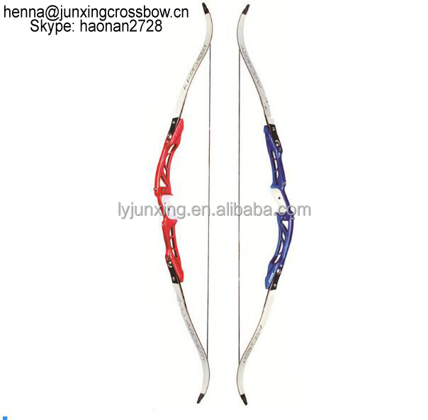 Junxing Archery F165 Recurve Bow Length 68 Inches 18-32 Lbs Magnesium Alloy Handle and Maple Limbs for Archery Hunting Shooting фото
