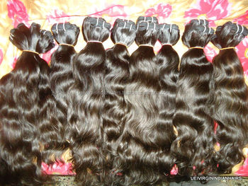 India Manufacturer Virgin indian hair companies Sew In Weave Natural Raw Virgin Indian Hair