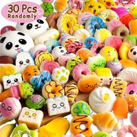 2018 Most Popular Kawaii Squishies Slow Rising 30pcs Pack Squishy Panda Cone