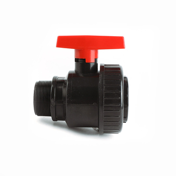 Cheap Price DN20 PN16 Threaded Irrigation Plastic M/F Single Union Ball Valve