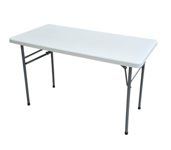 White Plastic Folding Long Table Rectangular Tables   Buy Plastic Long  Table,Long Narrow Table,Folding Changing Table Product On Alibaba.com