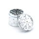 2018 Exquisite Design Hot Crown Lightning 4 - layer Aluminum Alloy Cigarette Herb Grinder,Wholesale,Stock