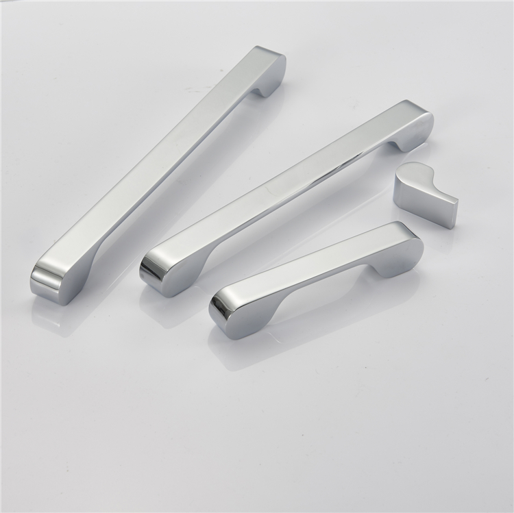 The newly designed high quality kitchen cabinet handles modern simple zinc alloy wardrobe handle