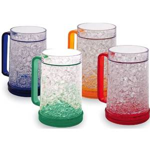 Double Wall Gel Frosty Freezer Mugs
