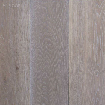 Pearl White Washed Engineered Oak Parquet Flooring