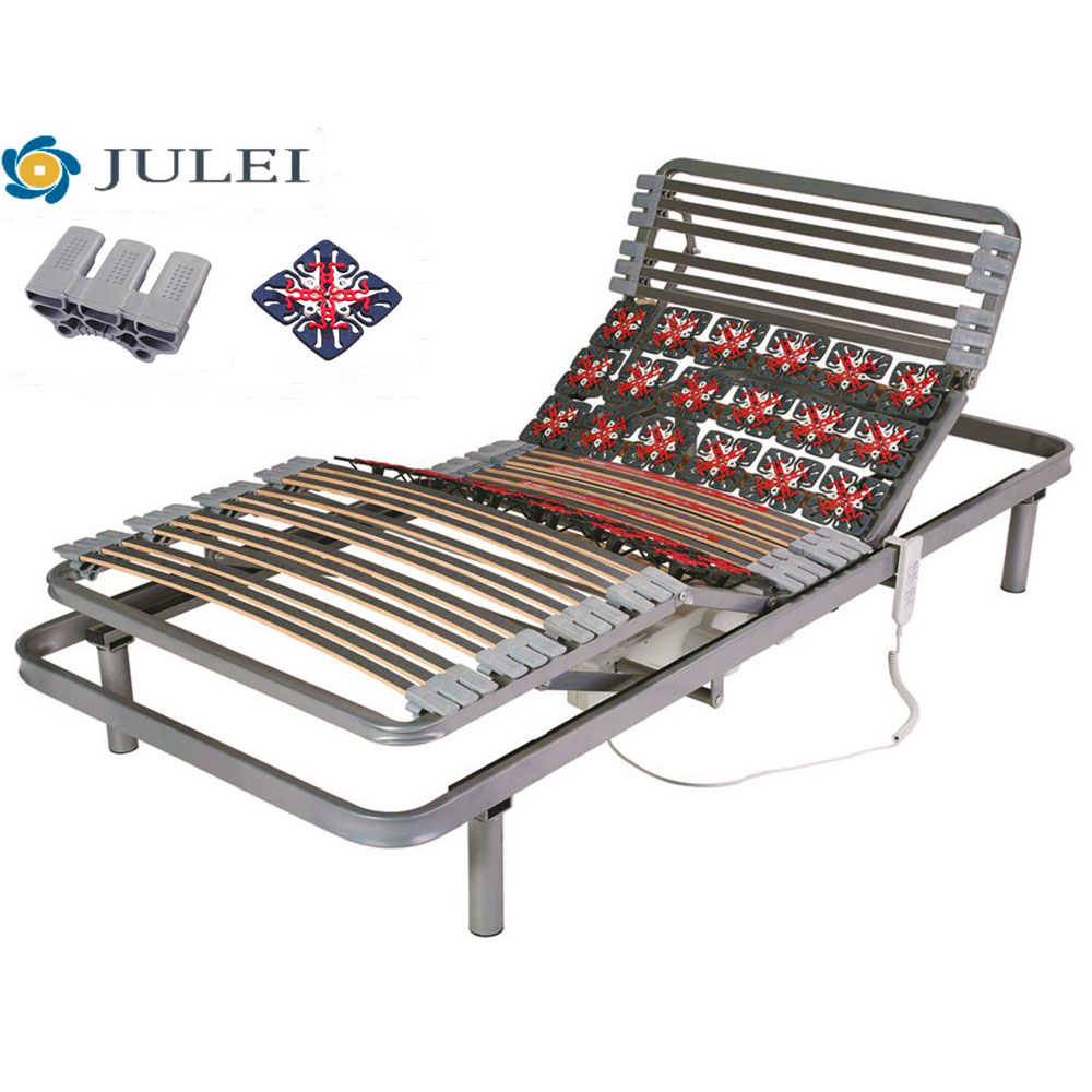 luxury series wooden slats electric adjustable metal bed frame DJ-PW34-1