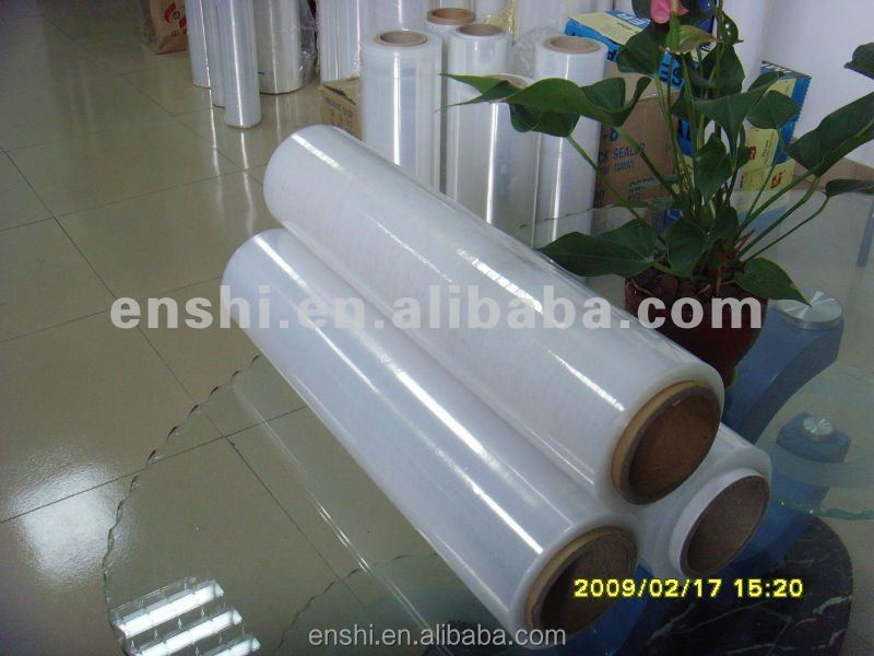 high quality transparent lldpe pallet wrap stretch plastic shrink <strong>film</strong>