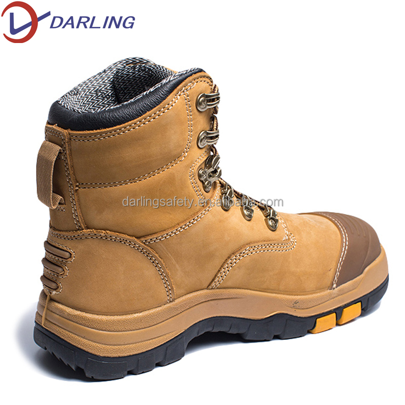 boots safety safety ankle boots australian men Leather work nubuck High mining for construction gxqPIw4Y