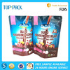 Customized food grade aluminum foil stand up chocolate milk powder packaging bag