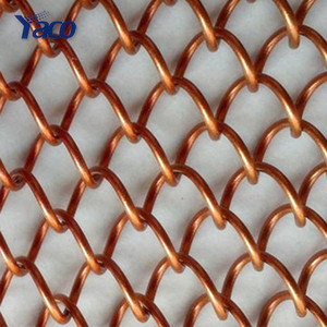 Popular flexible metal mesh fabric, metal mesh curtain, decorative wire/decorative wire mesh for cabinets mesh