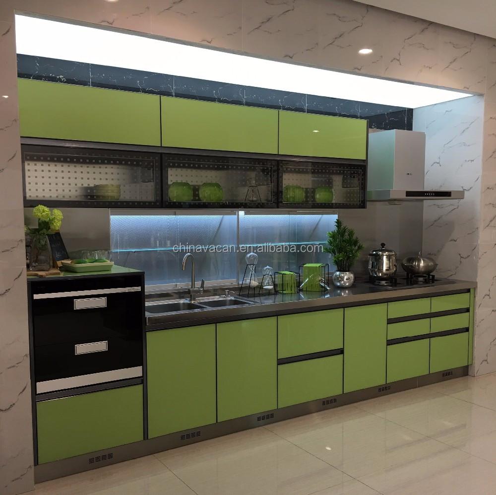 2017 Nueva Guangzhou Gabinete De Cocina Inoxidable - Buy Product on ...