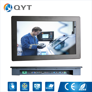 Best-selling sensitive touch screen long time run 12v fanless industrial computer
