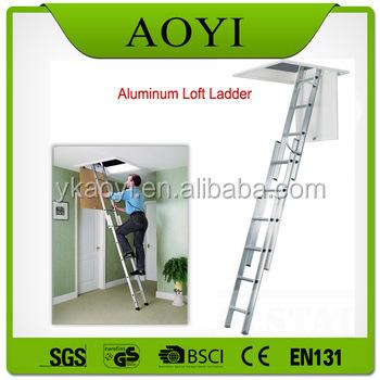 Hot Sell Aluminum Automatic Electric Telescopic Loft