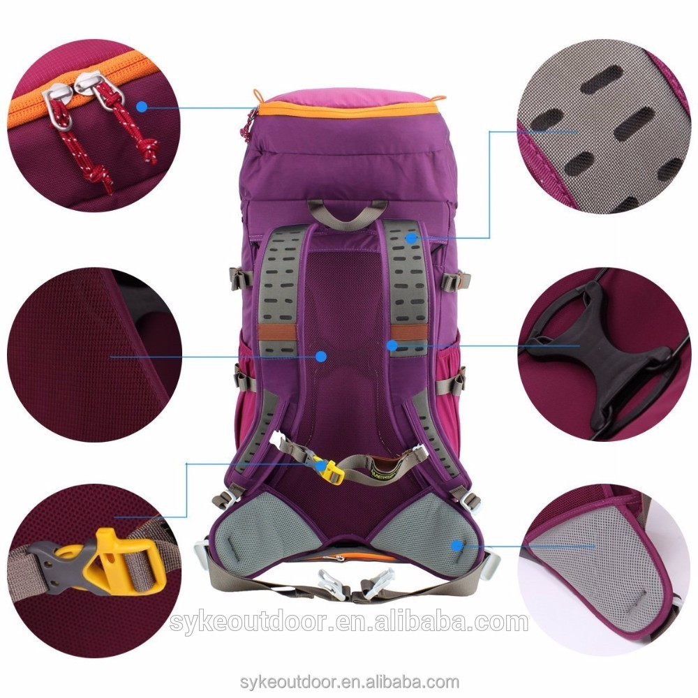 wholesales small walking rucksack with EVA compression